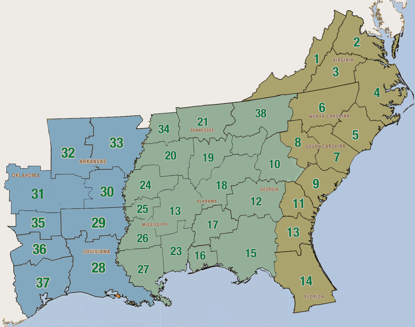 US South Timber Prices 2013