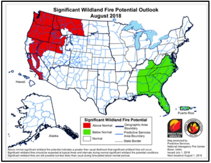 2018 Wildfire Season Update for the Western US